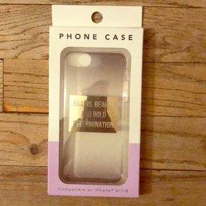 Other - iPhone plastic phone case